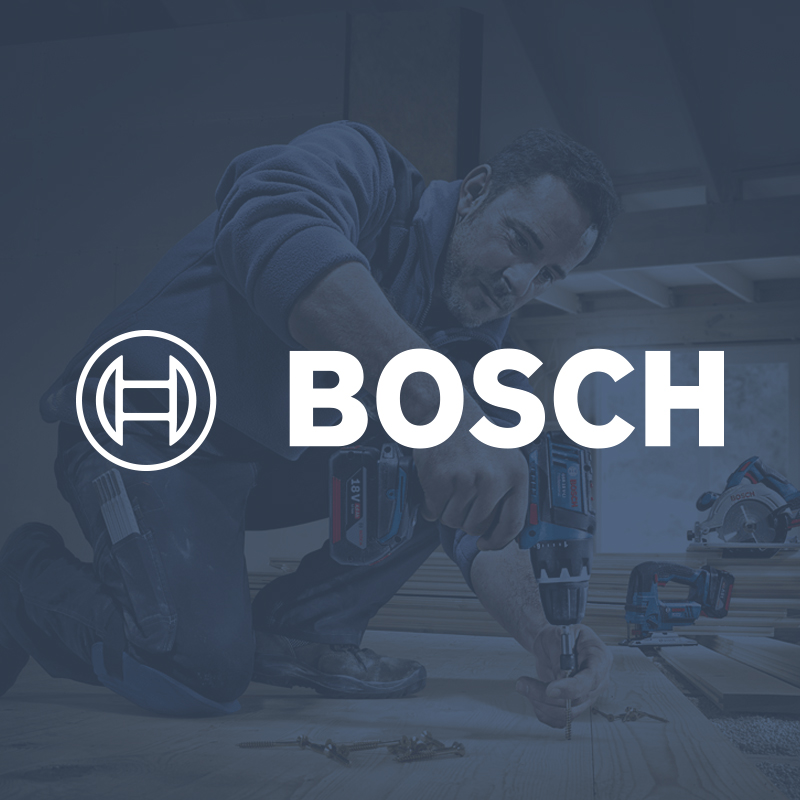 Robert Bosch GmbH - Various projects for MAM system concepts in PR and product marketing