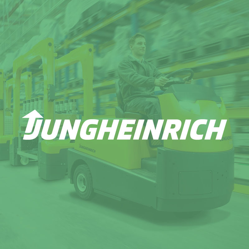 jungheinrich - General project management for launching PIM, MAM, shop and print systems, data maintenance processes
