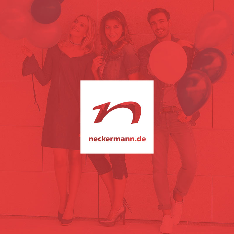neckermann - Concept for a digital marketing strategy and shop system update